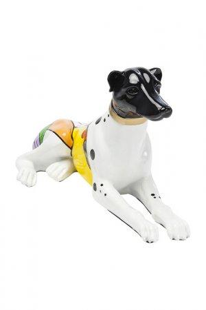 Статуэтка Dog 57 см Kare. Цвет: белый, желый, черный