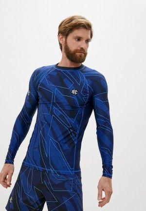 Рашгард Extreme Hobby TM SHADOW blue. Цвет: синий