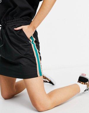 Черная спортивная юбка Cali Native-Черный цвет Vans