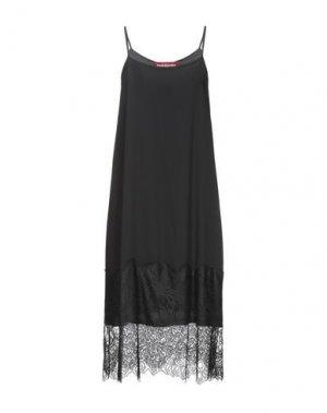Платье до колена GUARDAROBA by ANIYE. Цвет: черный