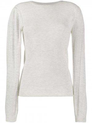 Пуловер с круглым вырезом Isabel Marant Étoile. Цвет: серый
