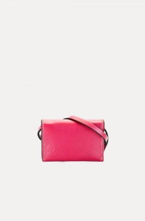 Поясная сумка-картхолдер Altuzarra. Цвет: розовый