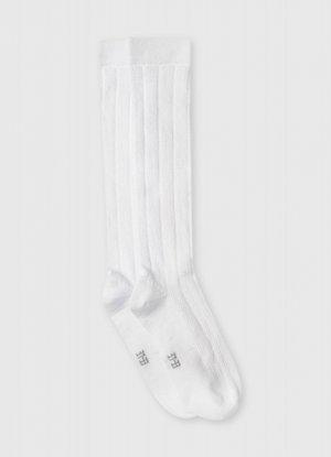 Гольфы для девочек O`Stin. Цвет: белый