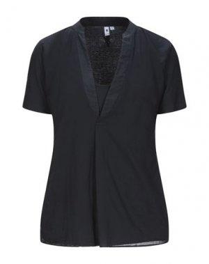 Блузка EUROPEAN CULTURE. Цвет: темно-синий