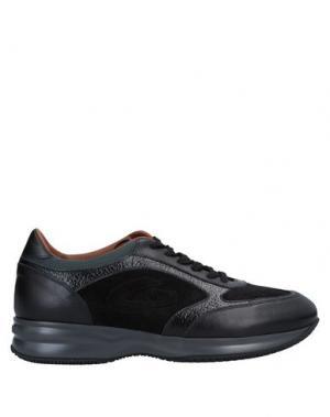 Низкие кеды и кроссовки ALBERTO GUARDIANI. Цвет: черный