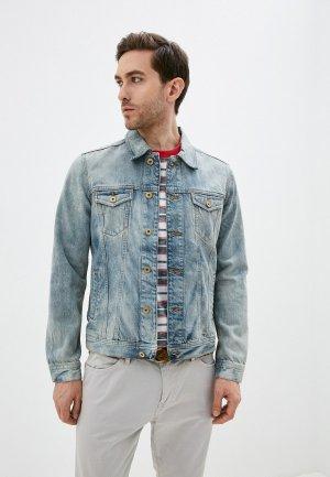 Куртка джинсовая Colins Colin's 20 RONNY. Цвет: голубой