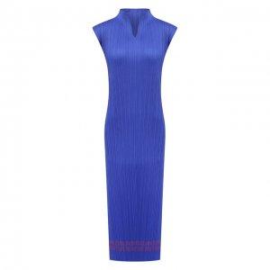 Платье Issey Miyake. Цвет: синий