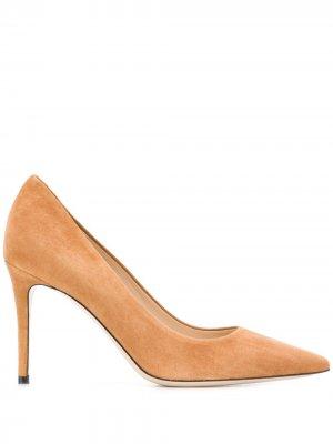 Туфли-лодочки на шпильке Deimille. Цвет: коричневый