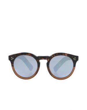 Солнечные очки ILLESTEVA. Цвет: бежевый