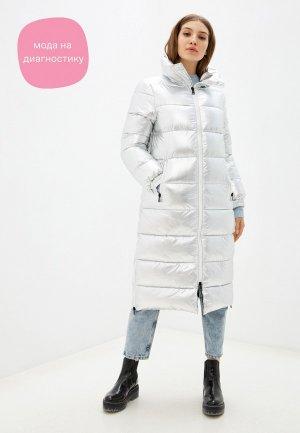 Куртка утепленная Oakwood. Цвет: серебряный