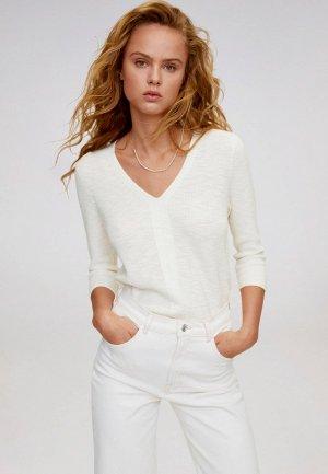 Пуловер Mango - SAETA. Цвет: белый