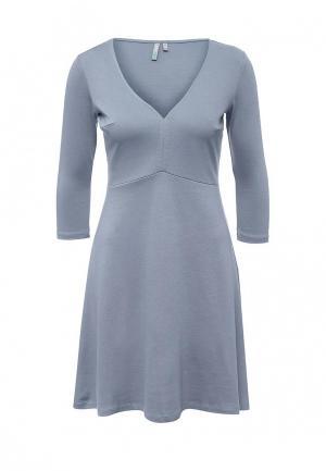 Платье Befree BE031EWPKB06. Цвет: голубой