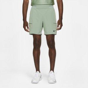 Мужские теннисные шорты Court Dri-FIT Advantage 18 см - Зеленый Nike