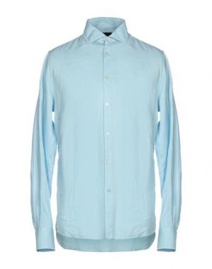 Pубашка HENRI LLOYD. Цвет: небесно-голубой