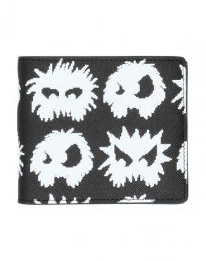 Бумажник McQ Alexander McQueen. Цвет: черный