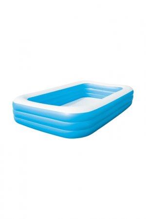 Надувной семейный бассейн BestWay. Цвет: голубой