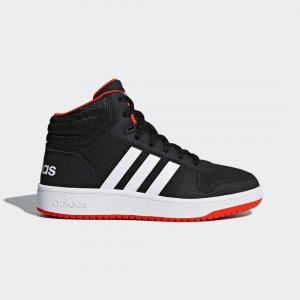 Баскетбольные кроссовки Hoops 2.0 Mid Performance adidas. Цвет: красный