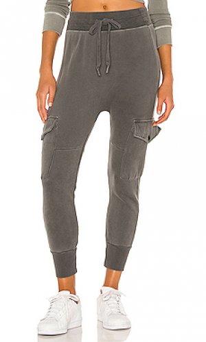 Спортивные брюки NSF. Цвет: черный