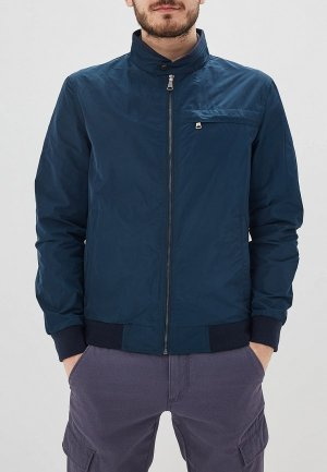 Куртка Al Franco. Цвет: синий