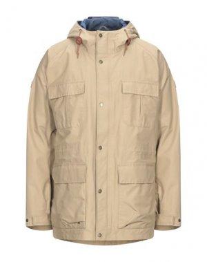 Куртка AIGLE. Цвет: песочный