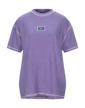 Футболка LAZY OAF. Цвет: розовато-лиловый