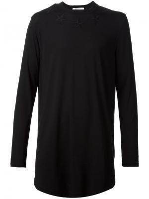Футболки и жилеты Givenchy. Цвет: чёрный