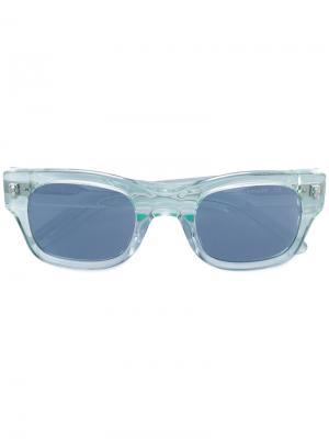 Солнцезащитные очки Lubna Sun Buddies. Цвет: зелёный