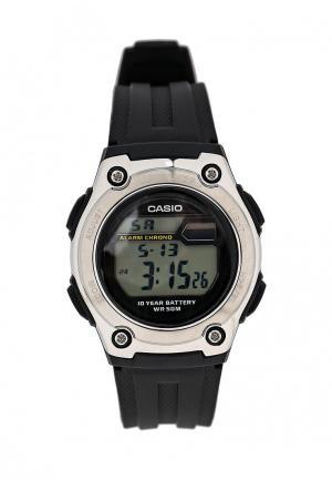 Часы Casio Collection W-211-1A. Цвет: черный