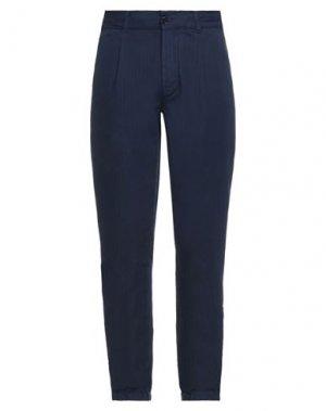 Повседневные брюки ASPESI. Цвет: синий