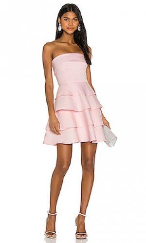 Платье robin Jay Godfrey. Цвет: rose