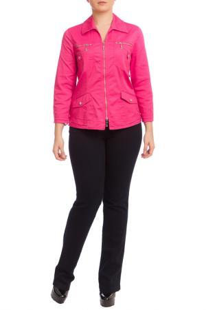 Куртка LAFEI-NIER. Цвет: бордовый