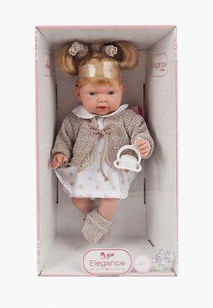Кукла Arias ELEGANCE с мягк. тел. 28 см.. Цвет: разноцветный