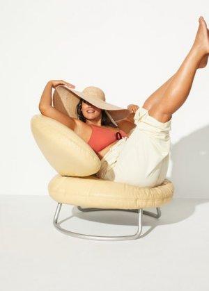 Шляпа из рафии - Marsella Mango. Цвет: экрю