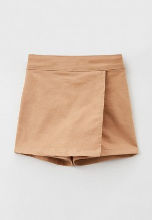 Юбка-шорты Koton. Цвет: бежевый