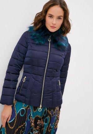 Куртка утепленная Marciano Los Angeles. Цвет: синий