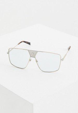 Очки солнцезащитные Givenchy GV 7162/S 83I. Цвет: серебряный