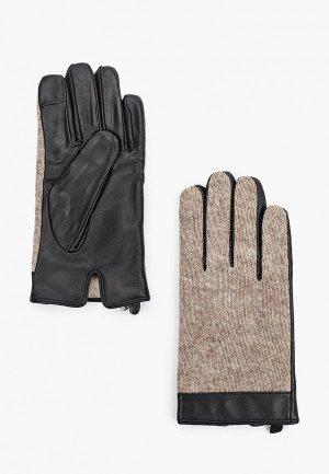 Перчатки Henderson. Цвет: бежевый