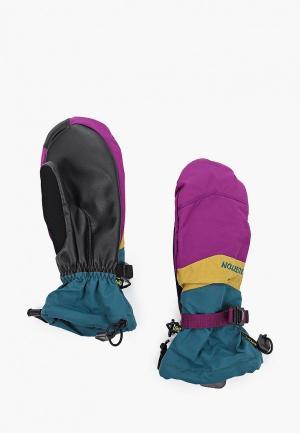 Варежки горнолыжные Burton WB PROSPECT MTT. Цвет: фиолетовый