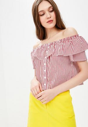Блуза Fornarina. Цвет: красный