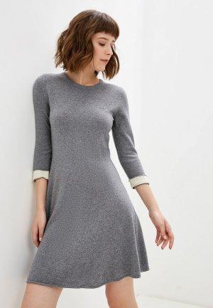 Платье Lacoste. Цвет: серый