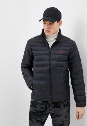 Куртка утепленная Polo Ralph Lauren RECYCLED. Цвет: черный