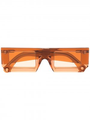 Солнцезащитные очки Les Lunettes Soleil Jacquemus. Цвет: оранжевый