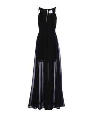 Длинное платье ANNARITA N TWENTY 4H. Цвет: черный