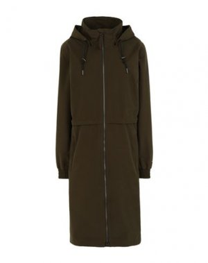 Легкое пальто COLUMBIA. Цвет: зеленый-милитари