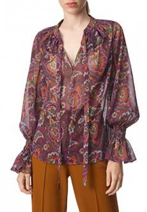 Блуза LUISA SPAGNOLI. Цвет: фиолетовый