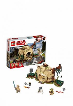 Конструктор Star Wars LEGO Хижина Йоды 75208. Цвет: разноцветный