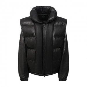 Кожаная куртка Isabel Marant. Цвет: чёрный