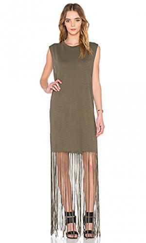 Платье kato NSF. Цвет: военный стиль