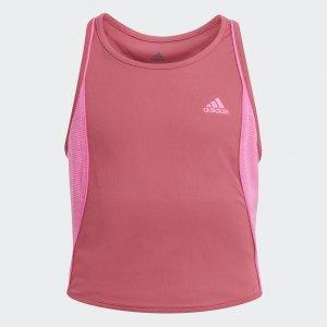 Майка для тенниса Pop-Up Performance adidas. Цвет: розовый