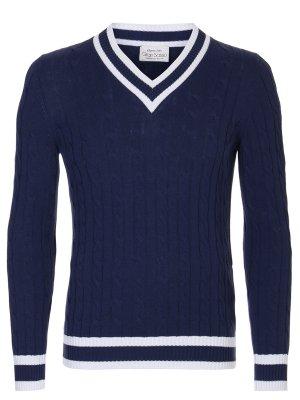 Пуловер хлопковый GRAN SASSO